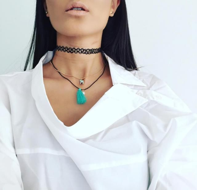 So many items that I must have in this winter! But Chokers must be my first choice.