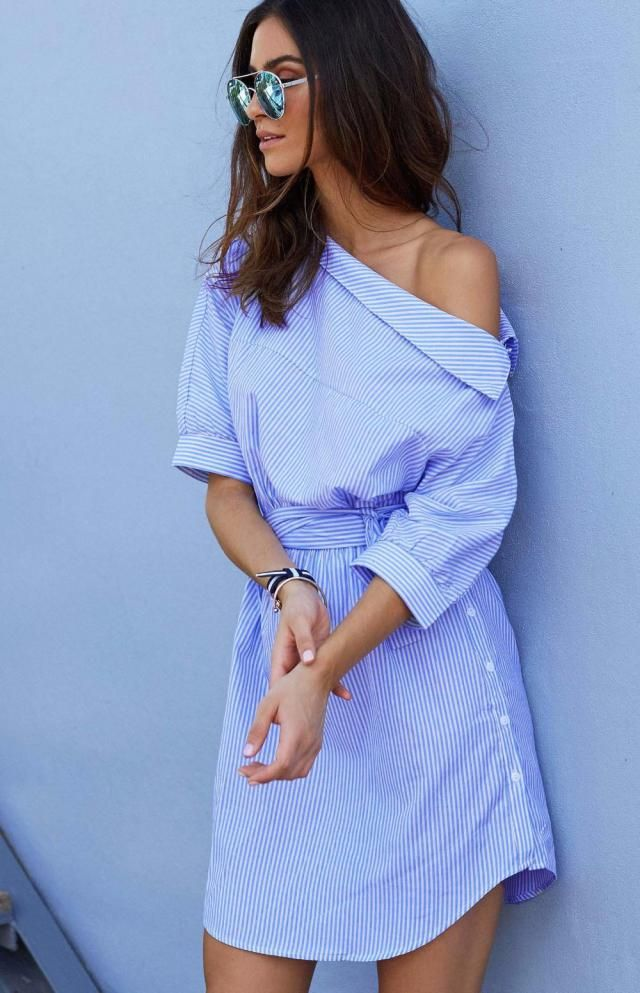 Striped Summer Mini Dress is perfect for your vacation, if you decide to spent your Christmas holidays on the beach. Pe…