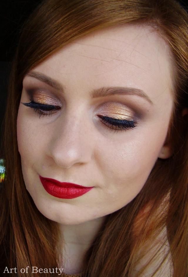 My holiday make up... Do you like it?