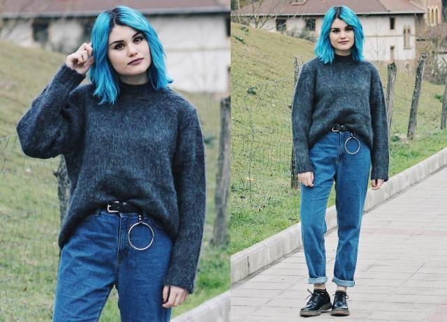 fluffy sweater ❤