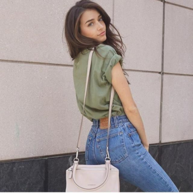 high waisted jeans always perfect for any occasion