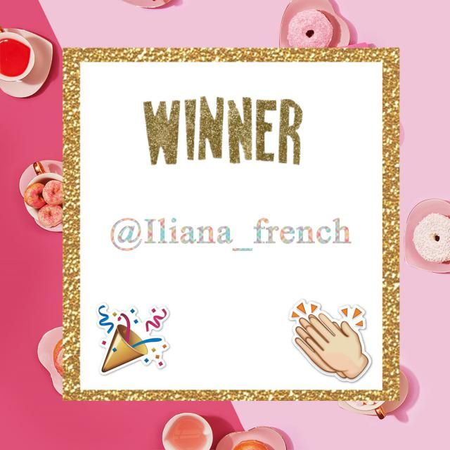 【Winner Announcement】 Congratulations to @Iliana_french, you just win $200 via our V-day giveaway! 