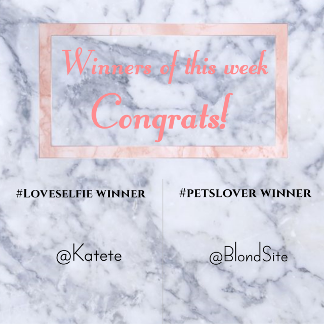 【Winners Announcement of this week】 Check the photo below to see the winners of  and  of this week.  [How to get your…