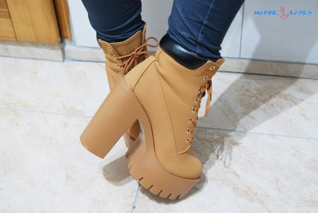 I really like this boots ! Very comfortable! <3