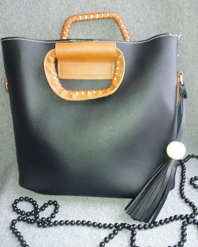 My beuatiful bag :)  http://www.zaful.com/tassel-wood-ball-pu-leather-handbag-p_226861.html
