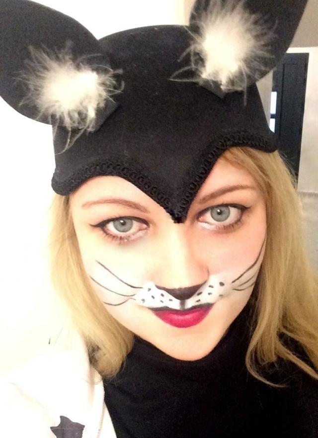 I became my cat&;s best friend for masquerade. :)