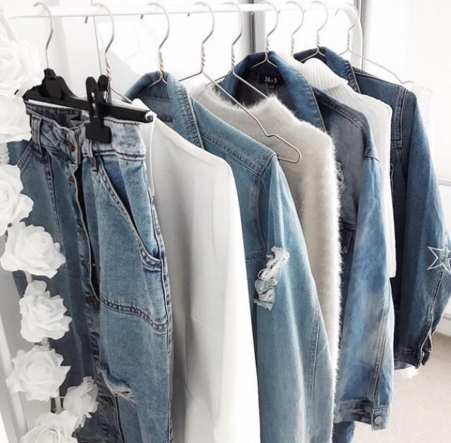 jeans and withe for spring