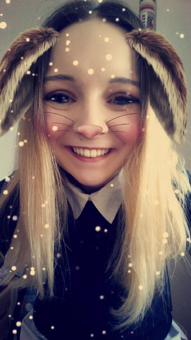 Love that snapchat filter <3 Add me : @orzechowaa on snapchat