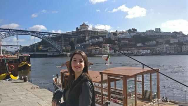 In Oporto, Portugal. I love this city!