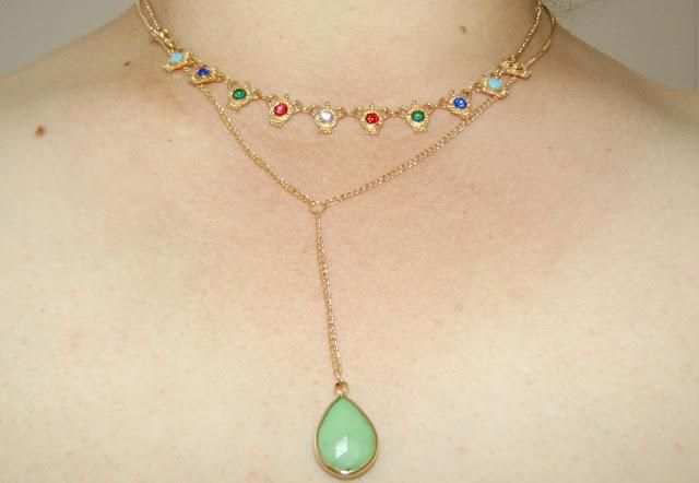 I loved this super delicate necklace more beautiful than it looks in the photo, trust !!!!!