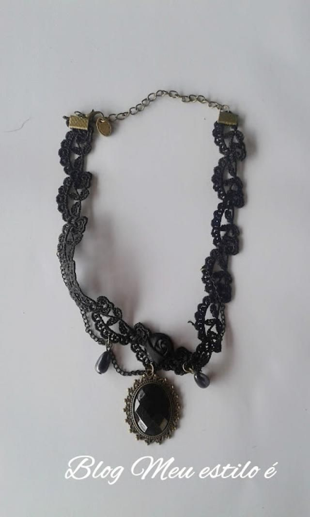 Gothic necklace , , ,