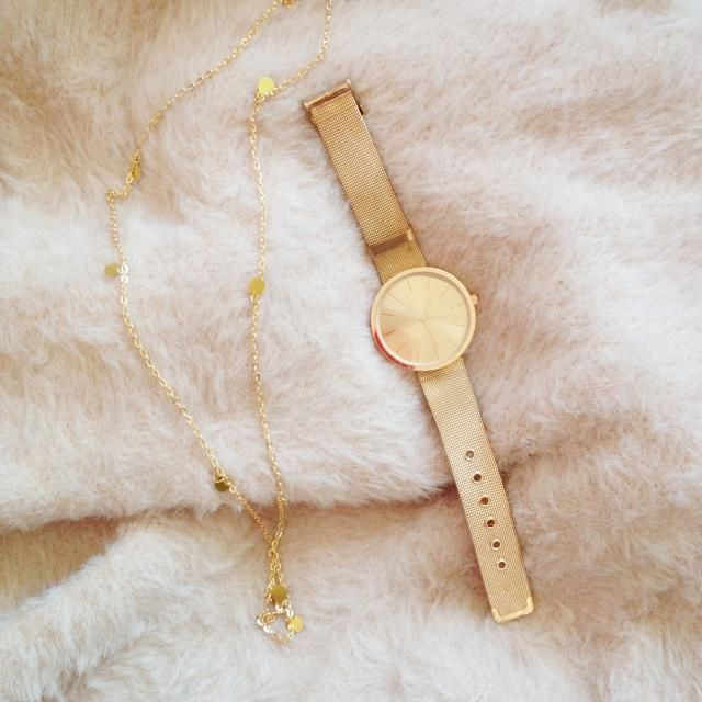 Zaful Watch and necklace :)