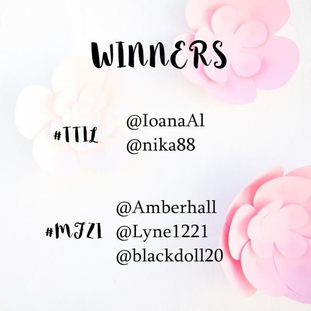 【Winners Announcement 】
