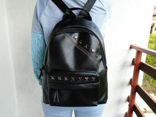 This backpack is a must-have. It's very stylish. Love it.