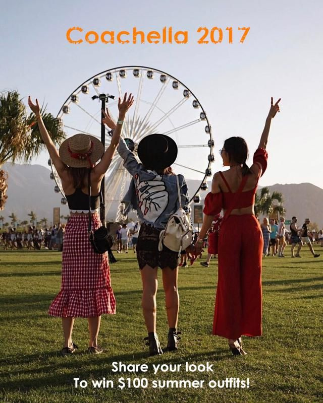Coachella marks the beginning of summer style!