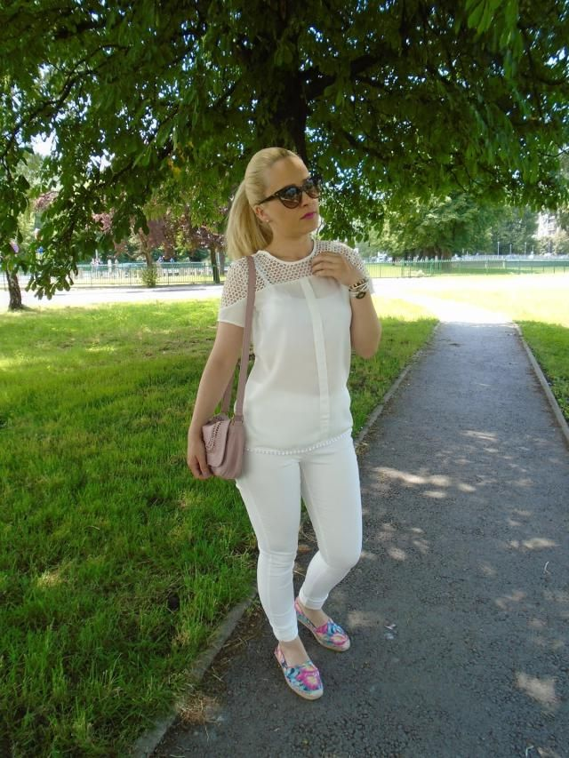 White look for spring/summer <3