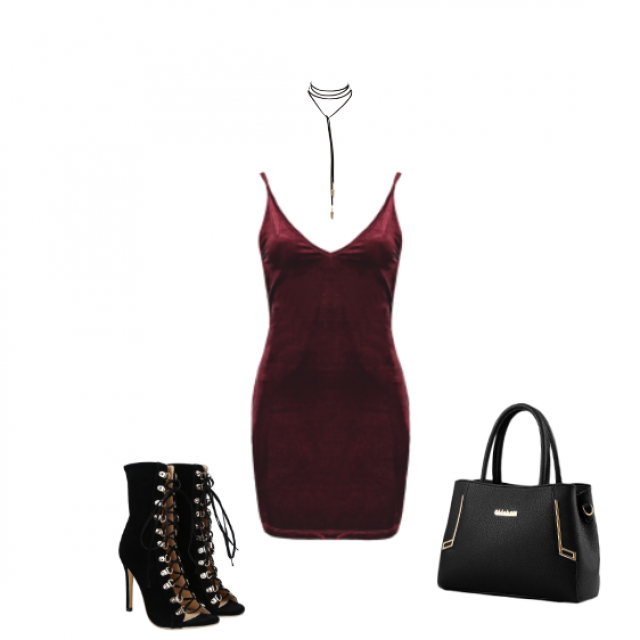 This sexy look is inspired by the beauty Hailey Baldwin. She loves those dresses and this color too. I think…