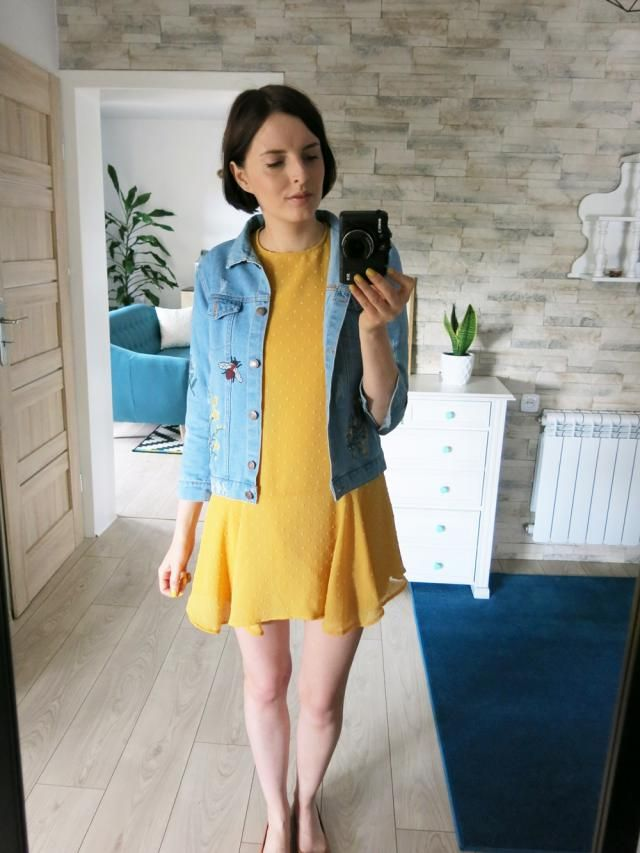 a perfect dress and a perfect denim jacket ♥