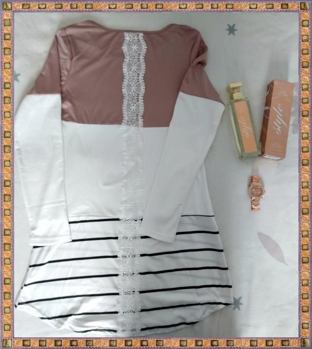 A beautiful top from  ,the perfume 5th Avenue Style by Elizabeth Arden and a rose gold watch...the perfect gift for my…