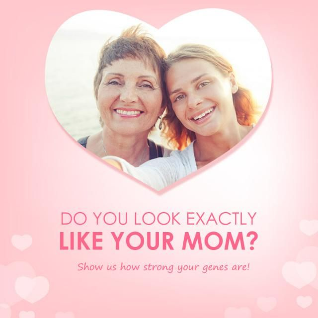 Genes are one of the most powerful things in this world. Some mothers and children look so much alike that it's like lo…