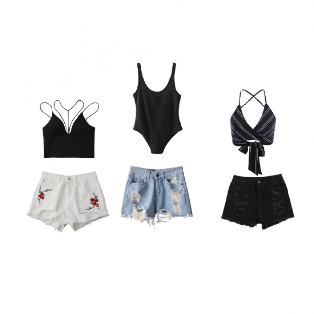 life's a Beach! I put together 3 cute and trendy beach outfits.