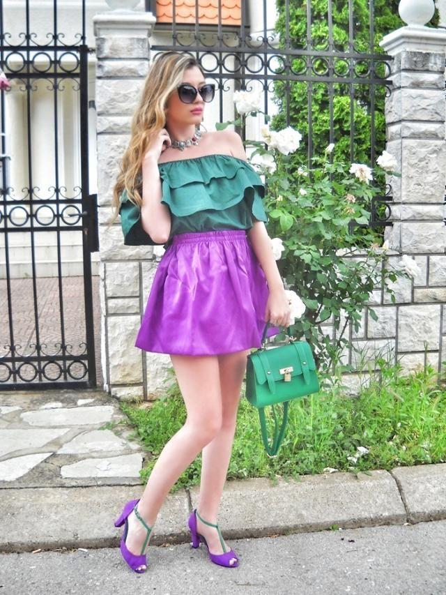 Purple and green :)  IG: @tijamomcilovic      My post http://itsmetijana.blogspot.rs/2017/05/purple-and-green.html    …