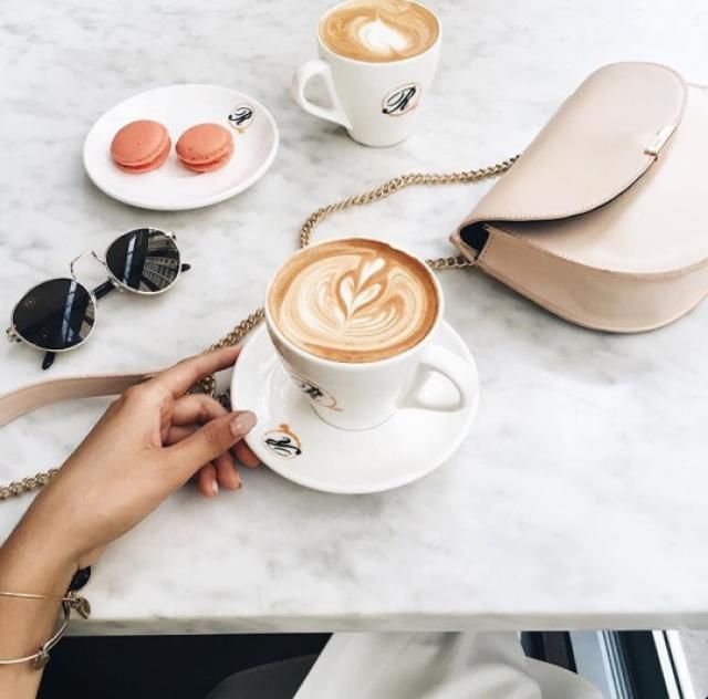 Drink coffee with extra sunglases, top bag #