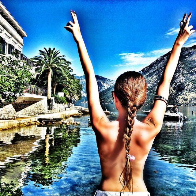 Montenegro, vacation :) IG: @tijamomcilovic