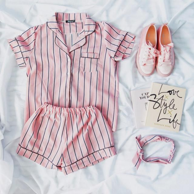 Pink Stripe just so girly and cute!