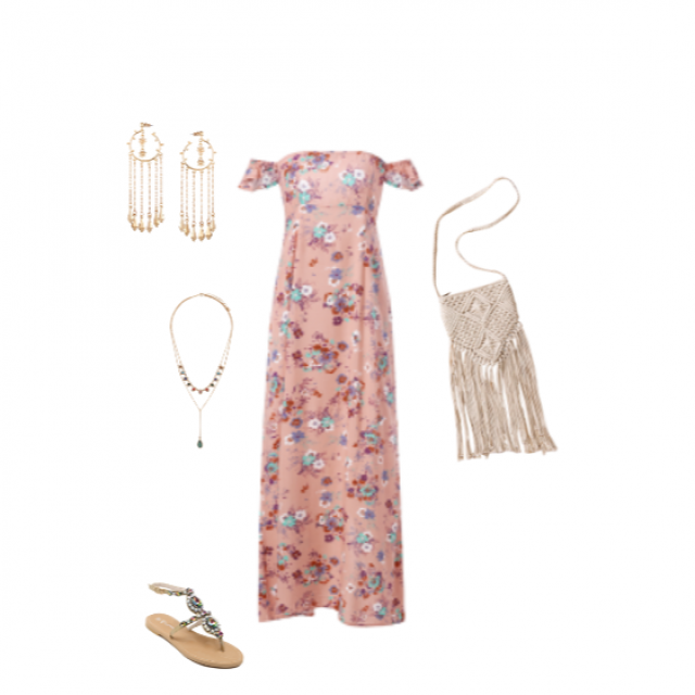I love this perfect brunch/weekend outfit!