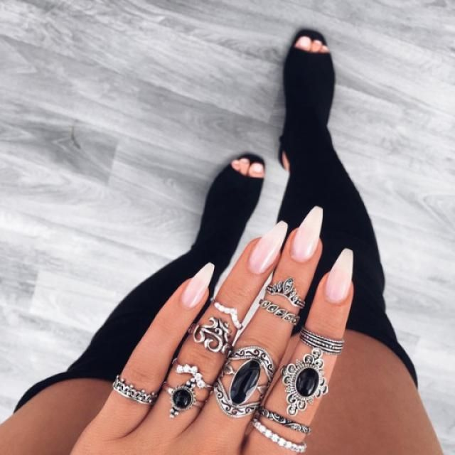 Beautiful silver rings! do you like it? let me know in the comments!♥♥♥♥♥♥♥♥♥♥                                 …