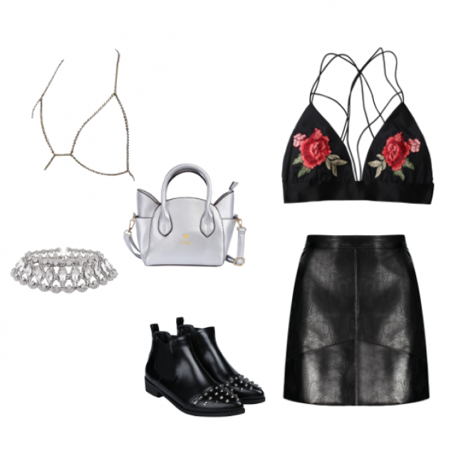 I created this look for Kendall Jenner.