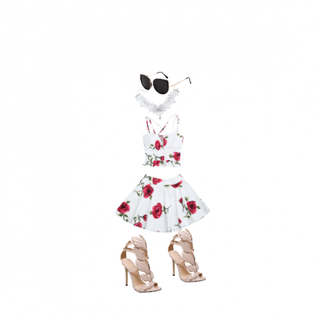 i feel like this outfit makes a statement you could go out with this on anywhere and also go to a fancy restaurant or …