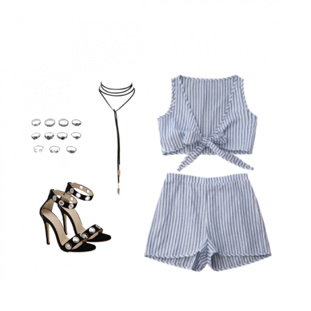 This two-piece outfit is super cute and so sexy! Im obcessed! Enjoy! And let me know what do you think about this out…