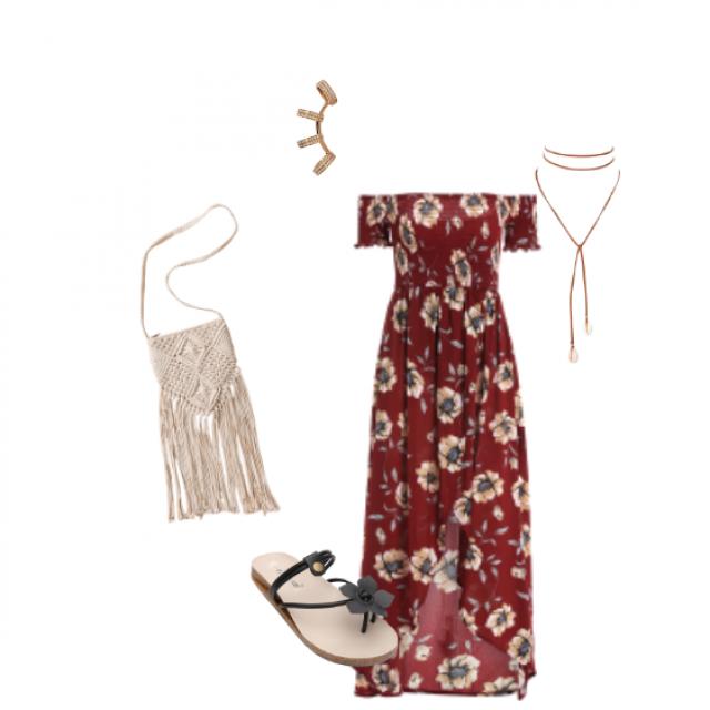 I love maxi dresses <3