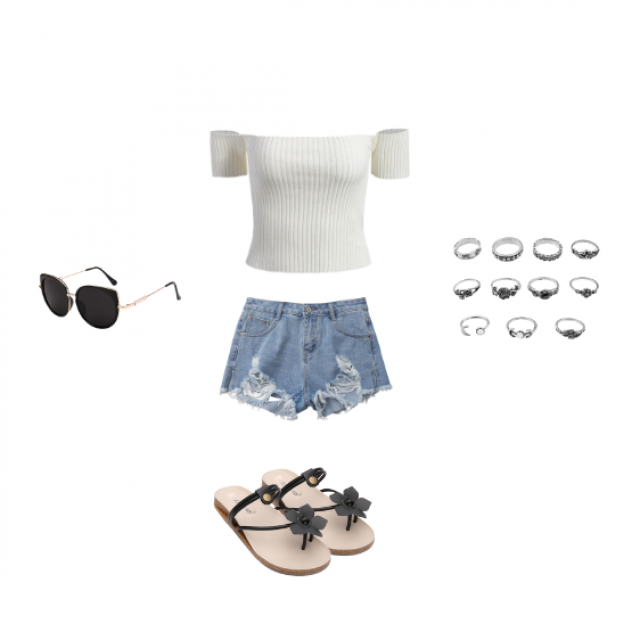 cute summer day outfit