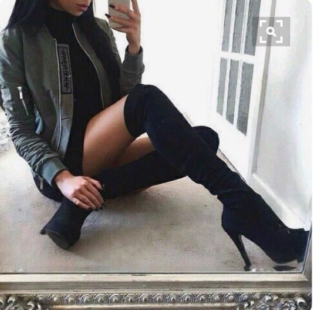 Beautiful black boots! do you like it? let me know in the comments!❤️❤️❤️❤️❤️❤️❤️❤️❤️                           …