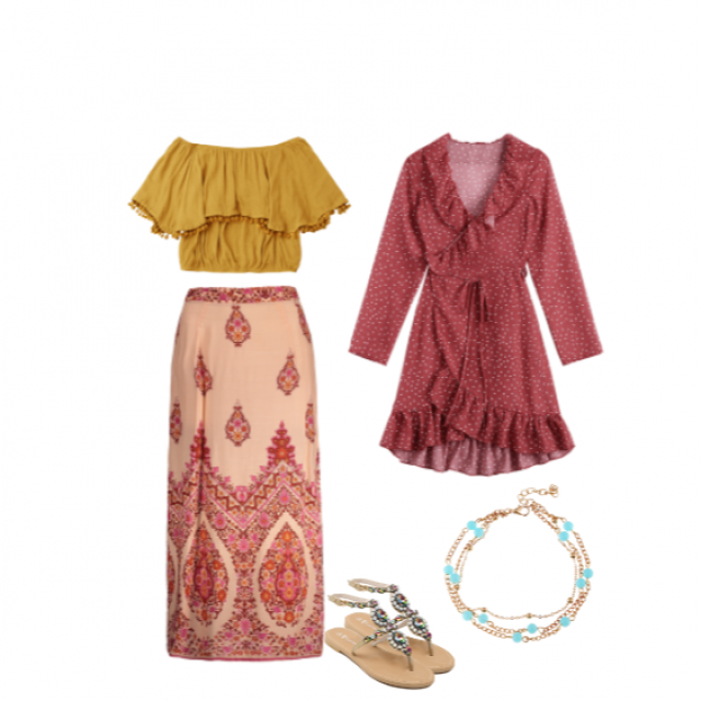Boho Chic Inspired Summer Outfit