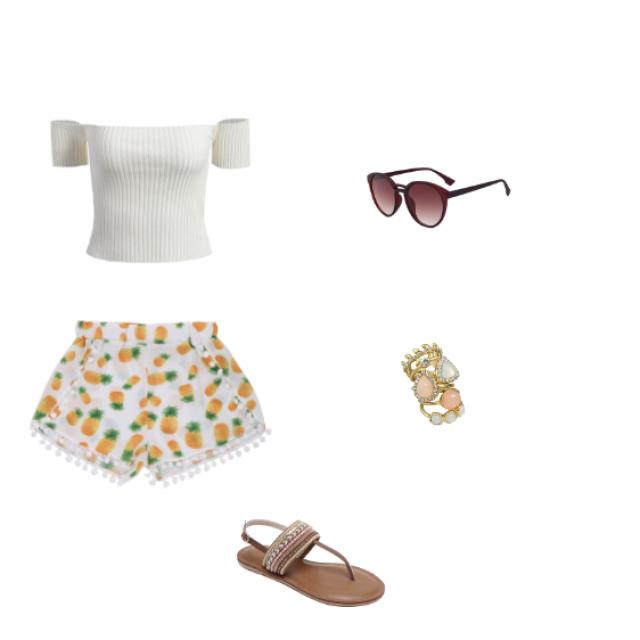 Outfit casual! <3    Add me IG: tiffannyzq