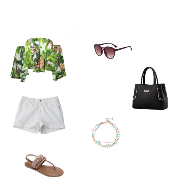 A outfit summer!    IG: tiffannyzq add me! <3