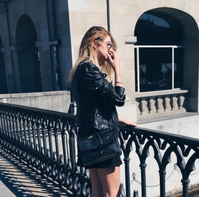 Beautiful black jacket!! do you like it? let me know in the comments!❤️❤️❤️❤️❤️❤️❤️❤️❤️                     …