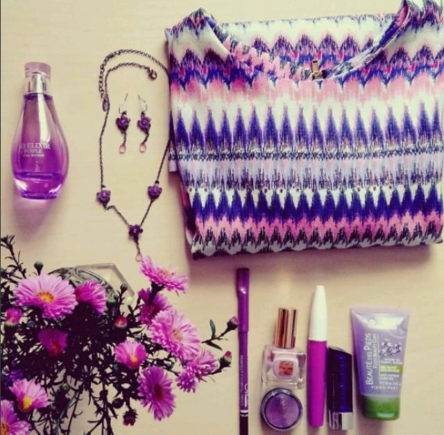 I love purple colour! It makes me feel good wearing purple clothes or accessories on a gloomy day, it instantly cheer…