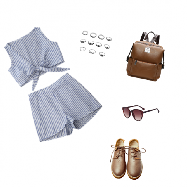 Outfits with let 39 s go to barcelona p z me for Zaful barcelona