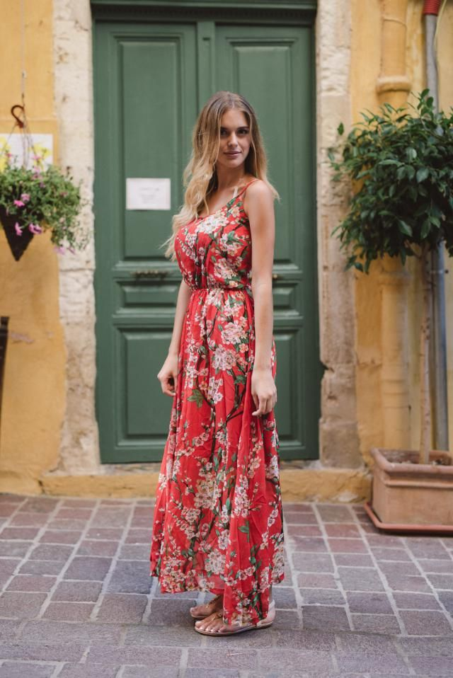 Floral Dresse shopping#
