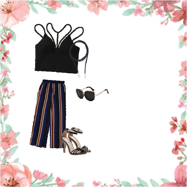 bardzo klasyczna stylizacja, ale mimo wszystko spodnie przyciągają uwagę i nadają całej tej stylizacji to coś :)      …