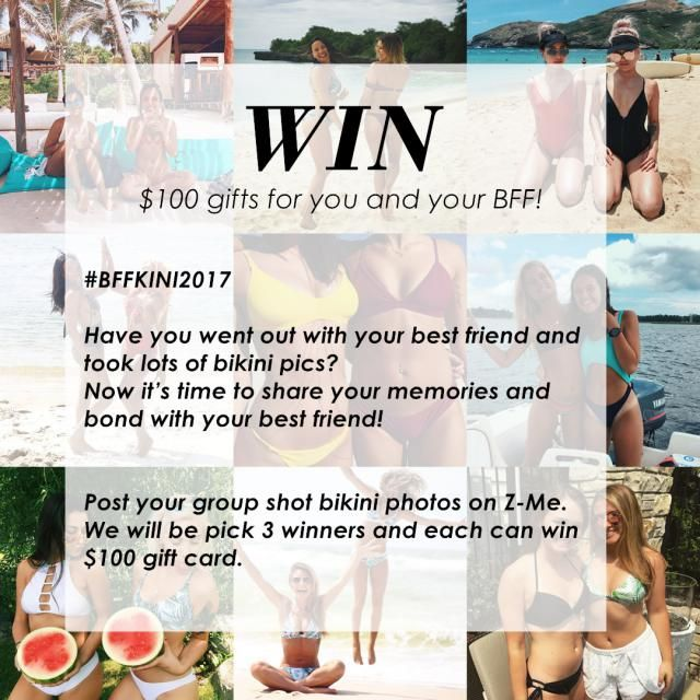 DOUBLE CHANCE TO WIN Tag your friend's Z-Me account in the comment below and invite her to join. (You can tag as many…