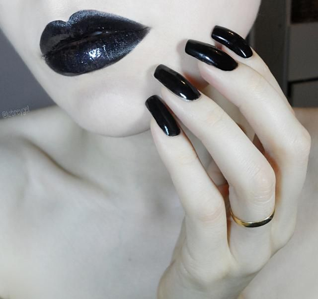 Licorice Nails & Lips