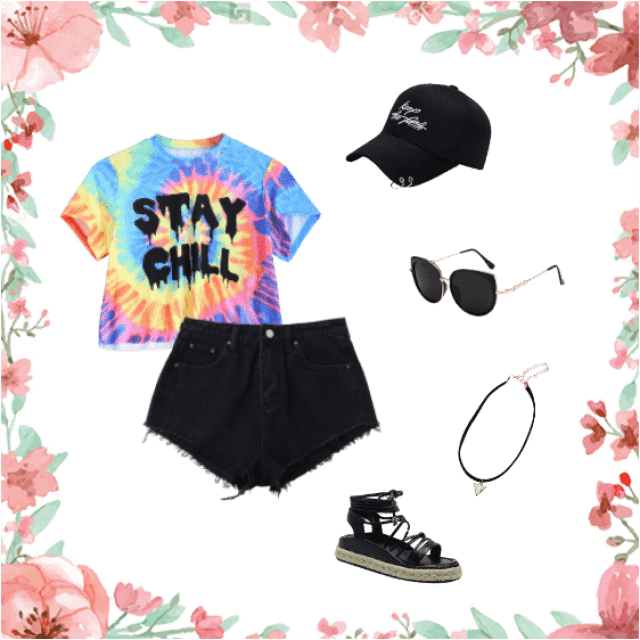 A cool casual look