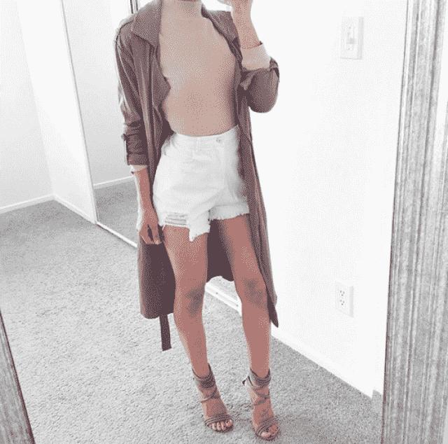 Beautiful denim shorts! do you like it? let me know in the comments!❤️❤️❤️❤️❤️❤️❤️❤️❤️                         …