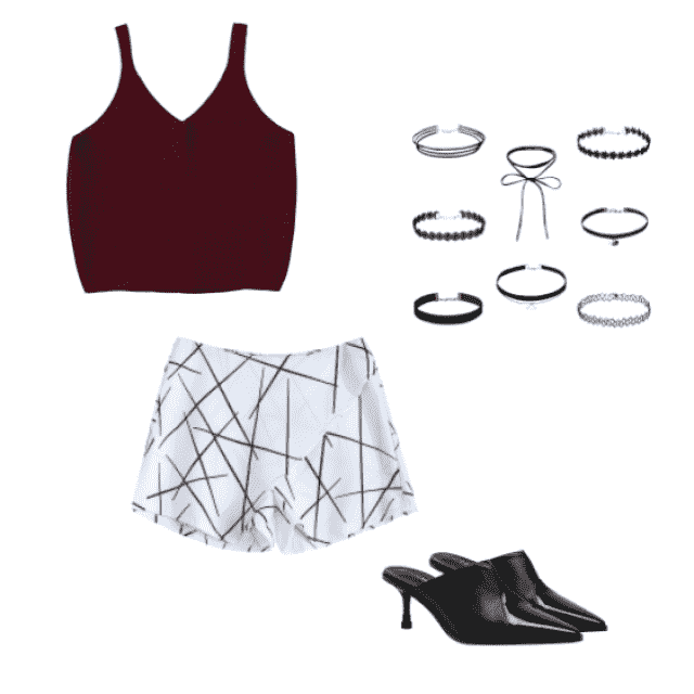 look like a star with this cute patterned outfit